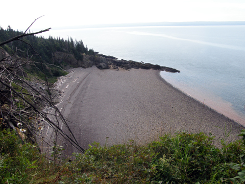 Hiking And Caching At Cape Split