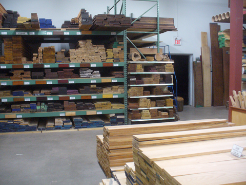 retail wood store
