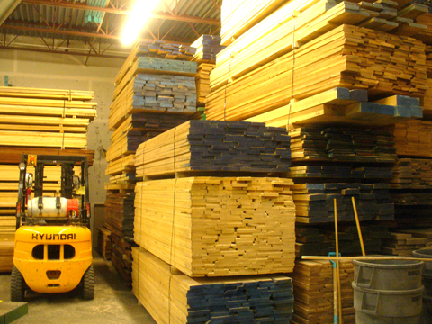 hardwood storage