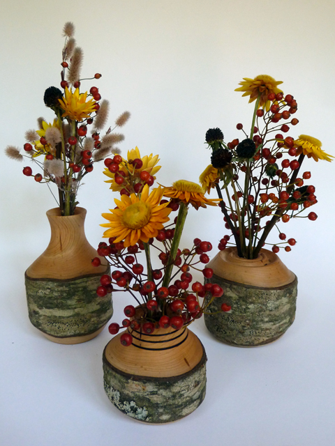 turned vase