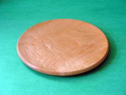 A Fickle Fiddleback Maple Plate