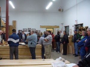 The NWG Visits Specialty Hardwoods