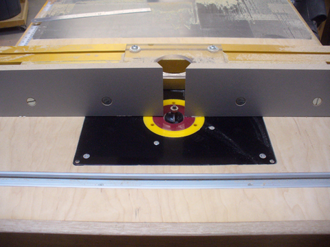 A table saw extension router table ravenview for Router table guide