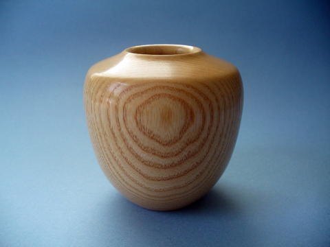 Another Small Vase Made Of Ash