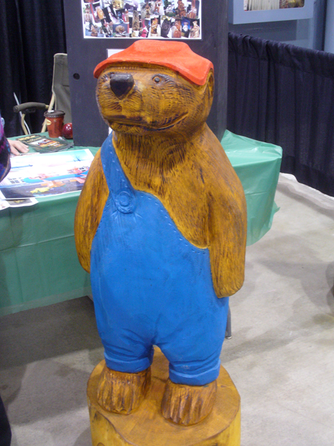 woodshow carvings