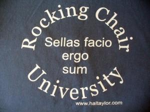 Rocking Chair University Week – Day 1