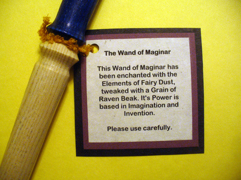 make magic wands