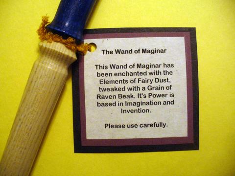 make magic wands