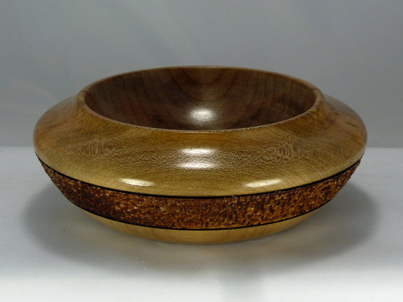 Small Maple Bowl with Texture - 01