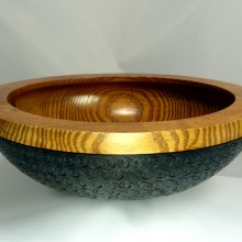Peyoke Bowl with Swirly Bottom - 01
