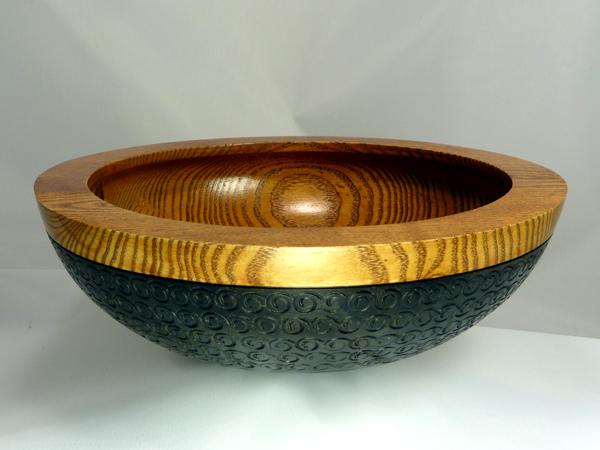 Peyoke Bowl with Swirly Bottom - 01