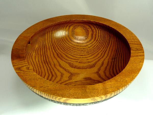 Peyoke bowl with swirly bottom