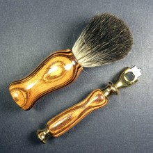 Razor & Shaving Brush Combo