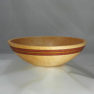 Sugar Maple Bowl With Fall Colours