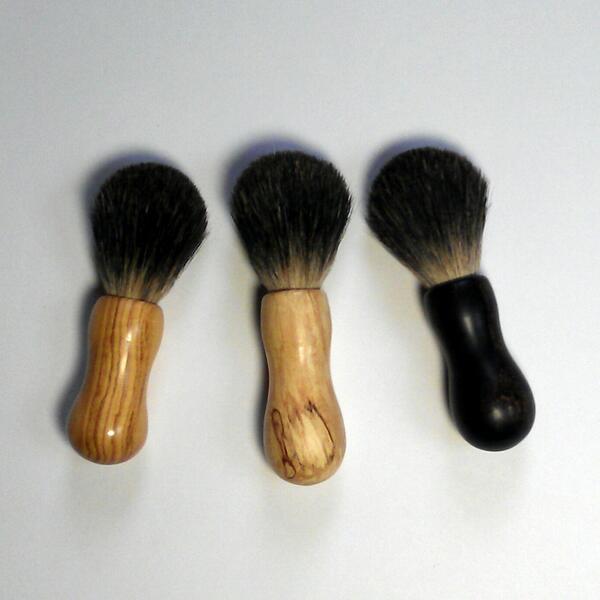 wooden shaving brushes