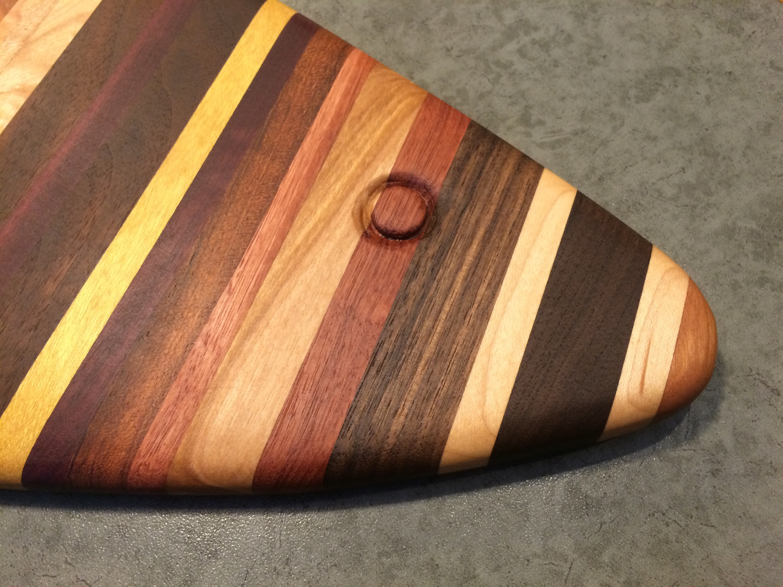 wood fish board
