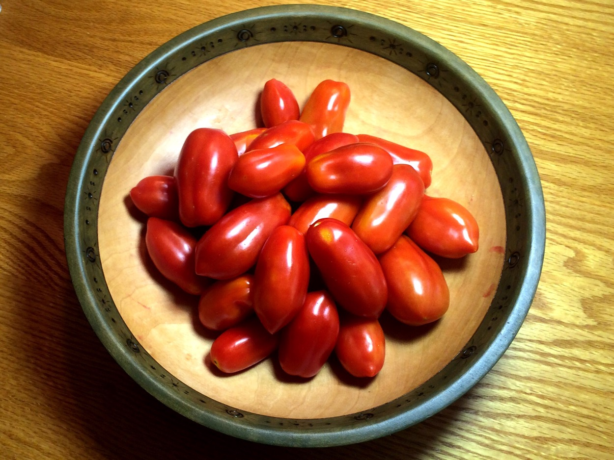 Ten Fingers of Naples Tomatoes
