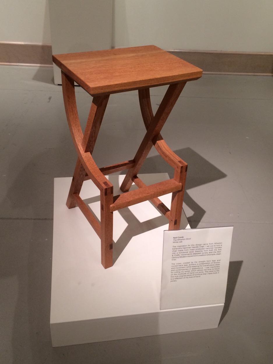 Wharton Esherick stool